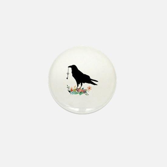 Cool Gothic art Mini Button