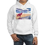 Desert Elephant Quest For Water Hoodie
