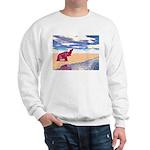 Desert Elephant Quest For Water Sweatshirt