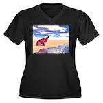 Desert Elephant Quest For Water Plus Size T-Shirt