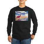 Desert Elephant Quest For Water Long Sleeve T-Shir