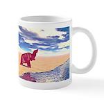 Desert Elephant Quest For Water Mugs