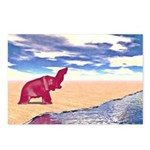 Desert Elephant Quest For Water Postcards (Package