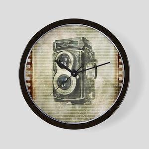 photographer retro camera Wall Clock