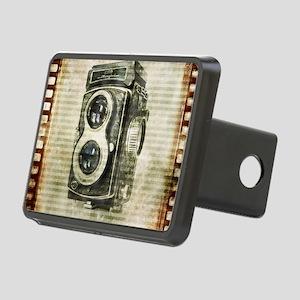 photographer retro camera Rectangular Hitch Cover