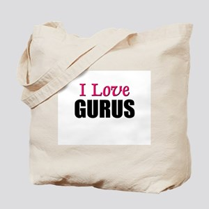 I Love GURUS Tote Bag