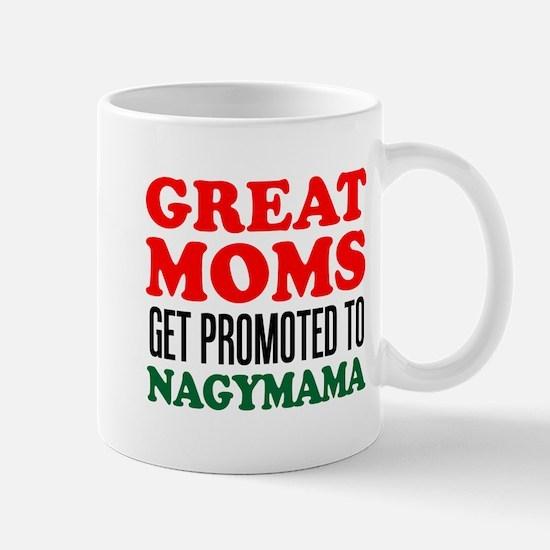 Promoted To Nagymama Drinkware Mugs