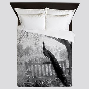Bench Peacock Queen Duvet