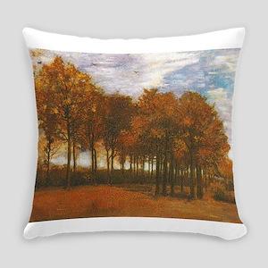 Autumn Lanscape by Van Gogh Everyday Pillow