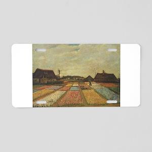 Vincent Van Gogh Bulb Fields Aluminum License Plat