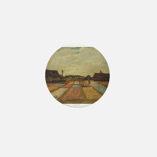 Vincent Van Gogh Bulb Fields Mini Button