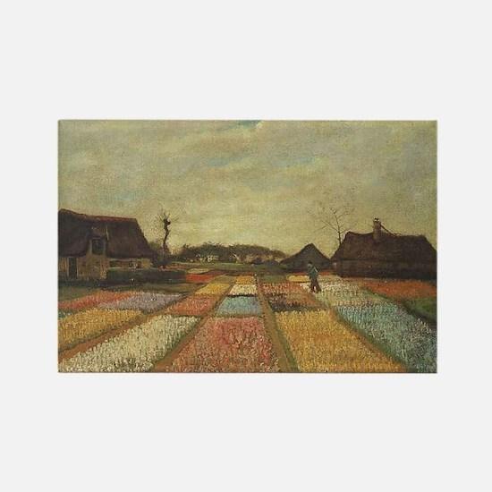 Vincent Van Gogh Bulb Fields Magnets