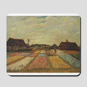 Vincent Van Gogh Bulb Fields Mousepad