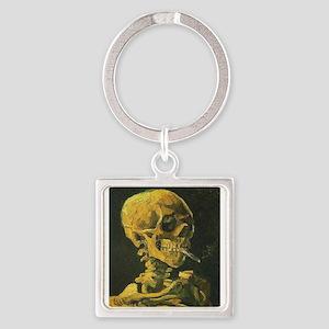 Van Gogh skull Keychains