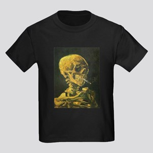 Van Gogh skull T-Shirt