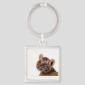 baby tiger Keychains