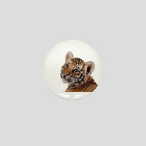 baby tiger Mini Button