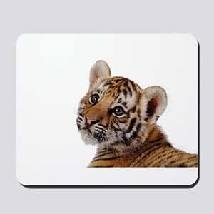 baby tiger Mousepad
