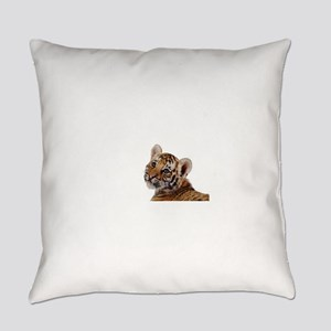 baby tiger Everyday Pillow