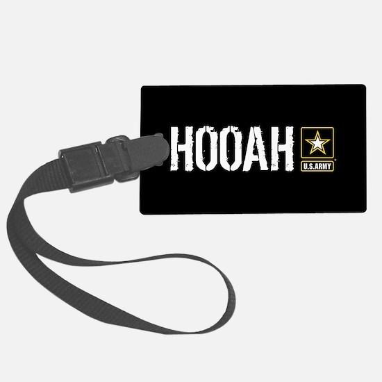 U.S. Army: Hooah (Black) Luggage Tag