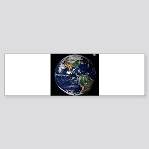 art Earth from space NASA Bumper Sticker