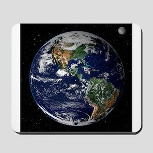 art Earth from space NASA Mousepad