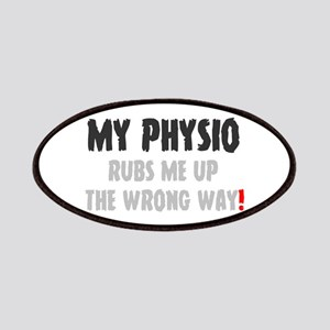 MY PHYSIO RUBS ME UP THE WRONG WAY! Patch