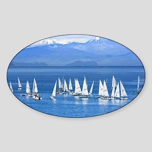 nautical sailboats Sticker