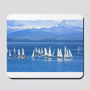 nautical sailboats Mousepad