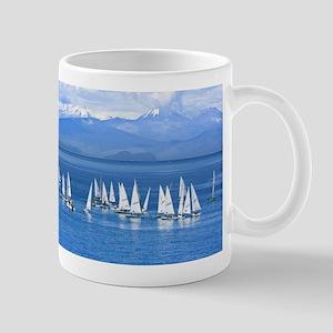 nautical sailboats Mugs