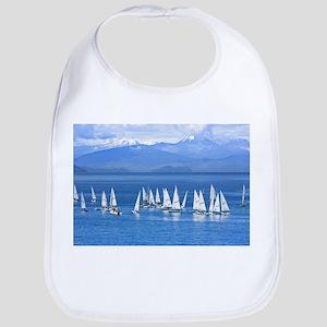 nautical sailboats Bib