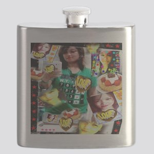 Tina and the Heart of Gold Flask