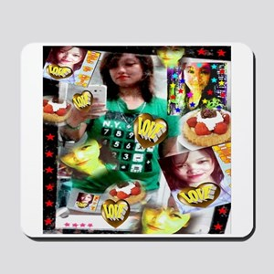 Tina and the Heart of Gold Mousepad