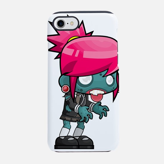 Girl Zombie Kid iPhone 8/7 Tough Case