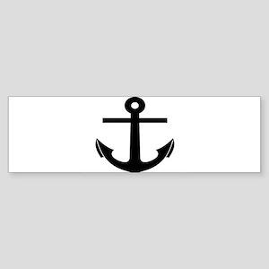 nautical anchor Bumper Sticker
