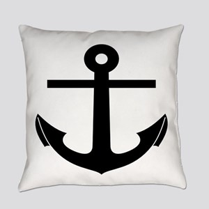 nautical anchor Everyday Pillow