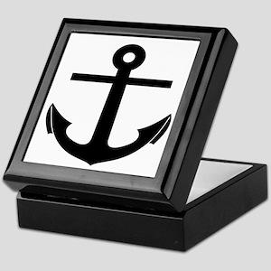 nautical anchor Keepsake Box