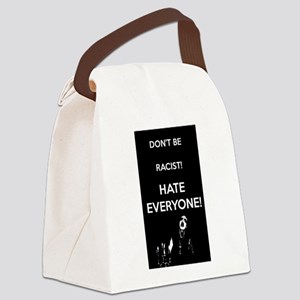 HATE EVERYONE Canvas Lunch Bag