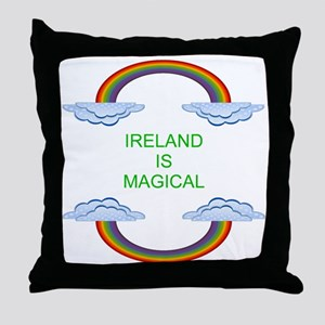 Ireland is Magical Throw Pillow