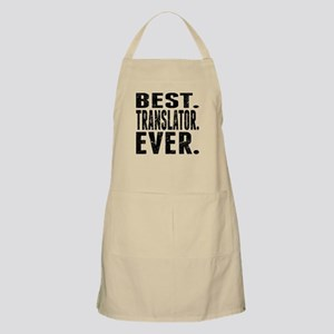 Best. Translator. Ever. Apron