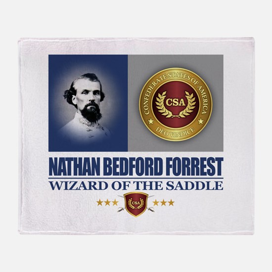 Forrest (C2) Throw Blanket