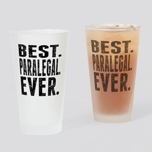 Best. Paralegal. Ever. Drinking Glass