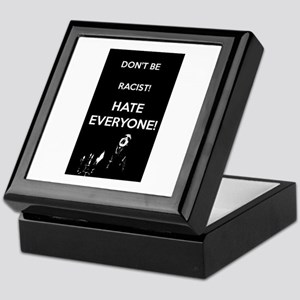 HATE EVERYONE Keepsake Box