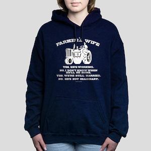 Farmer's Wife Joke Women's Hooded Sweatshirt