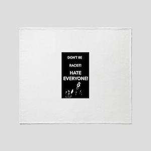 HATE EVERYONE Throw Blanket