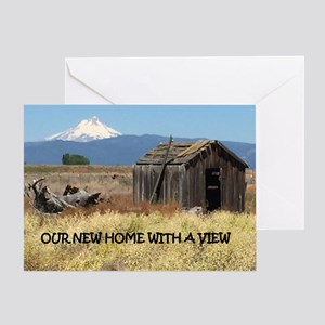 New Home with a View Greeting Card