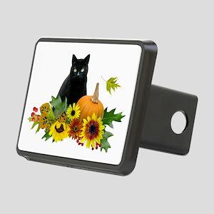 Fall Cat Rectangular Hitch Cover
