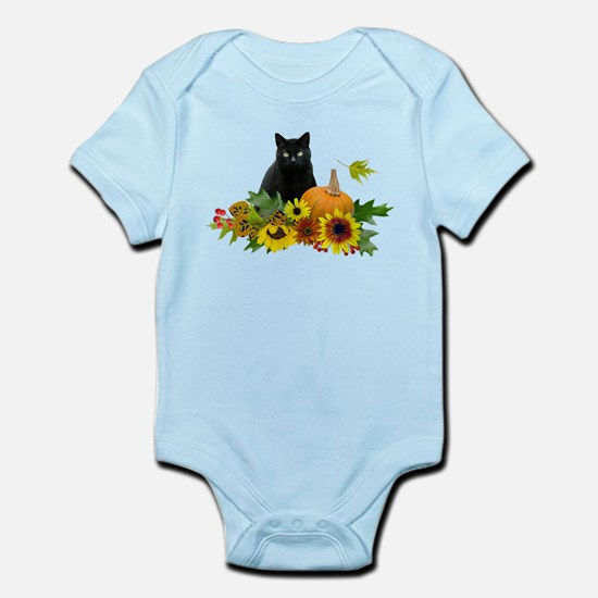 Fall Cat Infant Bodysuit