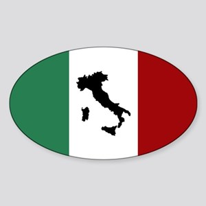 Italian Flag & Boot Sticker