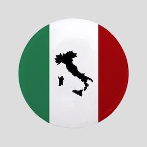 Italian Flag & Boot Button